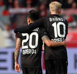 [VIDEO] El golazo de Charles Aránguiz en la aplastante victoria de Bayer Leverkusen sobre Friburgo