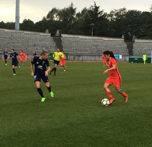 """""""La Roja"""" femenina iguala ante París FC en amistoso de preparación para la Copa América"""