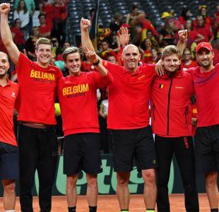 Bélgica remonta frente a Australia y jugará final de la Copa Davis ante Francia