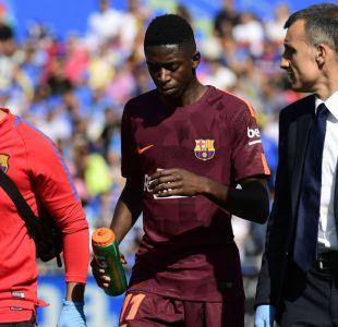 Golpe duro al Barcelona: Ousmane Dembélé estará fuera por lesión durante cuatro meses