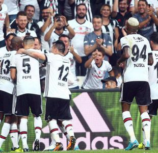 Gary Medel juega su primer duelo como titular en triunfo de Besiktas en Superliga de Turquía