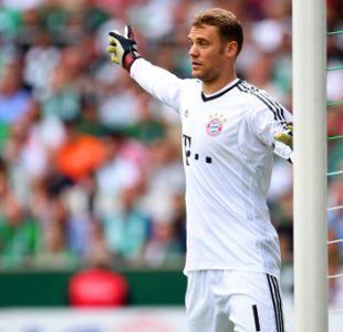 Portero alemán Manuel Neuer fue operado de un pie y será baja hasta enero