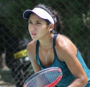 Tenista chilena de 15 años logra su primera victoria como profesional