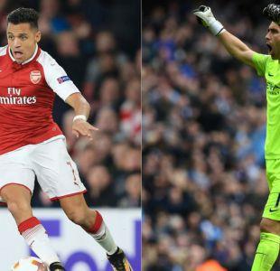 Alexis Sánchez y Claudio Bravo debutan en la Copa de la Liga de Inglaterra