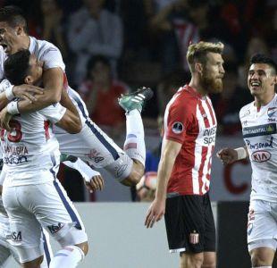Nacional de Paraguay vence a Estudiantes de La Plata y avanza a cuartos de Copa Sudamericana