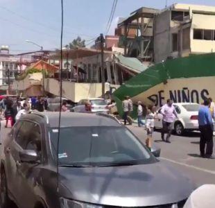 Al menos 25 muertos en derrumbe de escuela en Ciudad de México