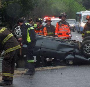Fin de semana de Fiestas Patrias dejó 21 fallecidos en accidentes de tránsito