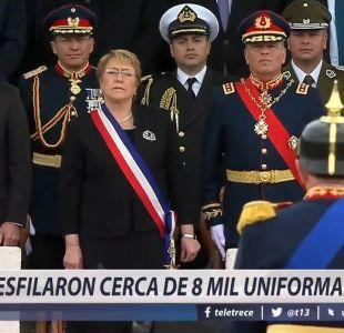 [VIDEO] La última Parada Militar de la Presidenta Bachelet