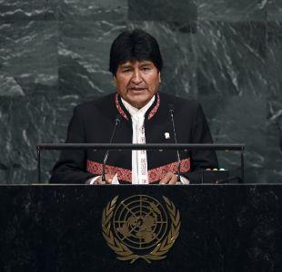Evo Morales responde a nota diplomática y acusa a Chile de mentir ante la ONU