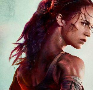 Tomb Raider: póster de la película divide a los fans por un detalle en cuerpo de Alicia Vikander
