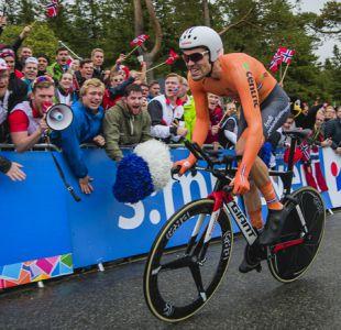 Ciclismo: Tom Dumoulin vuela en la contrarreloj y se proclama nuevo campeón del mundo
