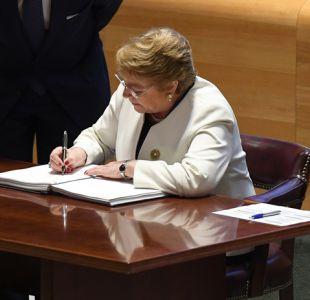 Bachelet en la ONU: No es posible un crecimiento a largo plazo sin política medioambiental activa
