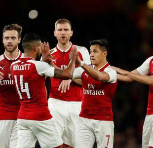 [VIDEO] Mira la notable habilitación de Alexis Sánchez para gol del Arsenal