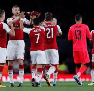 Alexis brinda pase gol en laborioso triunfo del Arsenal ante equipo de 3° División