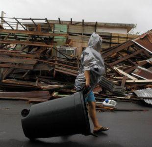 La devastación, las inundaciones y la oscuridad que deja huracán María en Puerto Rico