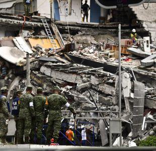 [Minuto a minuto] Al menos 320 fallecidos a cinco días de terremoto en México