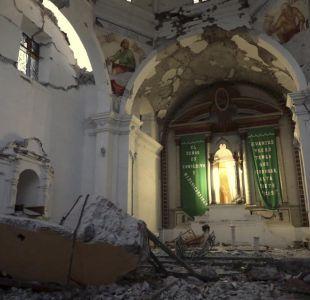 Terremoto en México: 11 muertos en bautizo tras derrumbe de iglesia