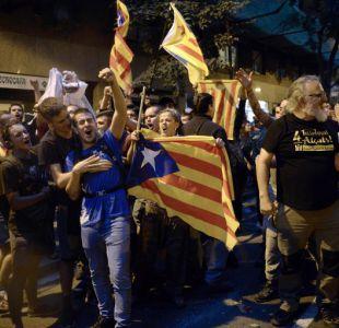 Manifestantes en Barcelona prometen una movilización permanente