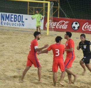 [VIDEO] Chile vence a Argentina en la Liga Sudamericana de Fútbol Playa