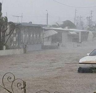 En Puerto Rico, el huracán María provocó vientos, lluvias y temblores.