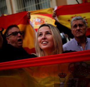 Cataluña: movilizaciones se toman España a una semana del referéndumCataluña: movilizaciones se toman España a una semana del referéndum