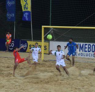 Chile consigue ante Bolivia su segundo triunfo en la Liga Sudamericana de fútbol playa