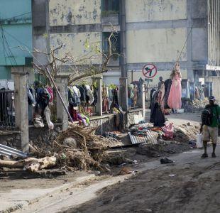 Confirman que dos chilenos se encuentran atrapados tras el paso de María en Puerto Rico