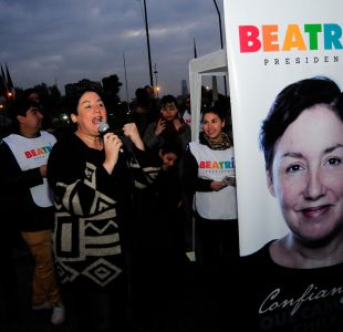 El regreso político de Beatriz Sánchez