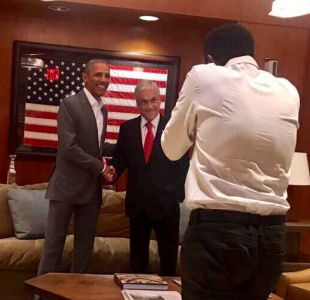 Piñera tras cita con Obama: Conversamos de Chile, de América Latina y del cambio climático