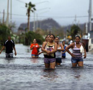 Evacuación masiva en Puerto Rico por falle de represa tras paso de Huracán María.