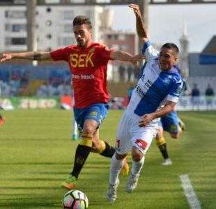 Unión Española rescata empate frente a Antofagasta y sigue invicto y como líder del Transición