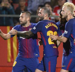 Barcelona derrota a Girona y sigue como líder con puntaje perfecto en España