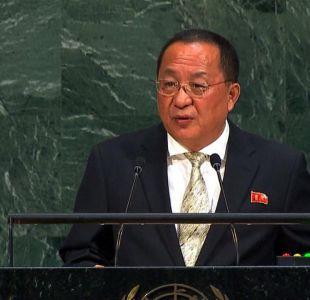 ONU: Corea del Norte arremete contra Trump y apoya a Cuba y Venezuela