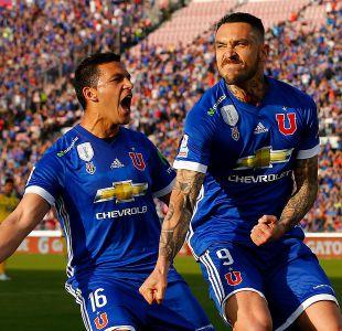 [FOTOS] Las postales del intenso empate entre la U y Everton en el Nacional