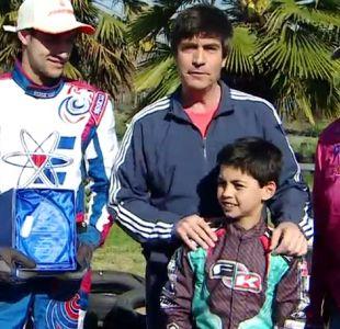 Autoridades ayudaran a niño que le robaron su karting