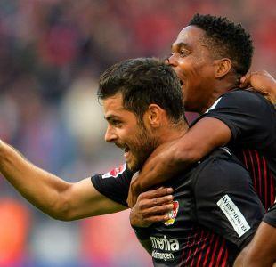 Charles Aránguiz juega en revitalizadora goleada del Leverkusen sobre Hamburgo