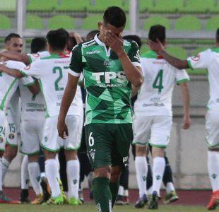 Wanderers pierde como local ante Audax Italiano y sigue complicado con el descenso