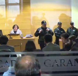 [VIDEO] Prisión para líder de la CAM y siete comuneros mapuche
