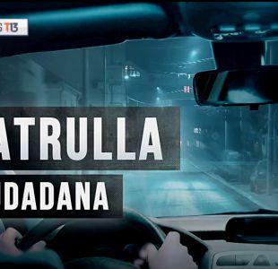 [VIDEO] Reportajes T13   Patrulla ciudadana contra la delincuencia