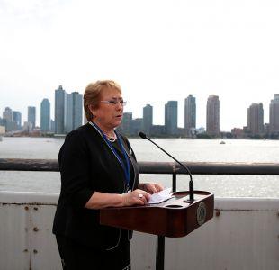 Cadem: Presidenta Bachelet registra su mayor aprobación desde el estallido del Caso Caval