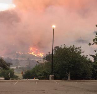 Canyon Fire, el incendio que obliga a evacuar a 1500 personas en California