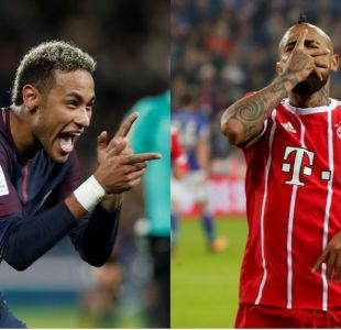 [VIDEO] Vidal vs. Neymar: choque de reyes por la Champions League