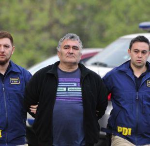 Ex frentista detenido será puesto a disposición de Mario Carroza esta mañana