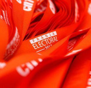 La franja electoral se emitirá hasta el 16 de noviembre
