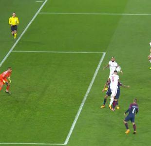 [VIDEO] El gol anulado a Arturo Vidal ante PSG en Champions League