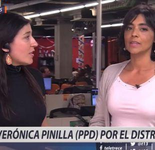 [VIDEO] La batalla por el distrito 10: Las definiciones de Verónica Pinilla