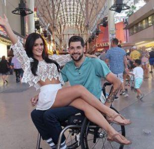 El romance de una estrella fitness y un joven en silla de ruedas que derriba prejuicios