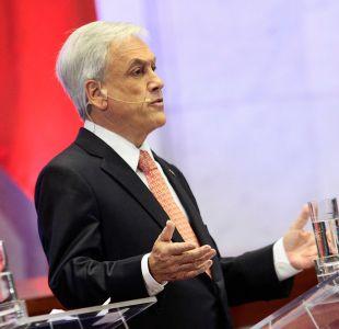 Piñera: No podemos permitir que el narcotráfico entre a la política