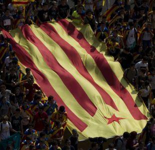 Movilización estudiantil en Cataluña para defender referéndum de independencia