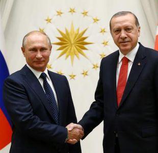 Putin y Erdogan refuerzan cooperación mutua en Siria e Irak